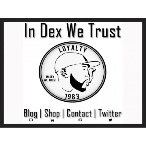 In Dex We Trust Website